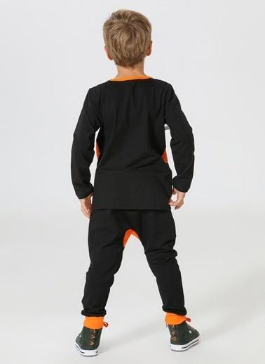 Lupiakids Mini Tiger Harem Pantolon+T-shirt Renkli